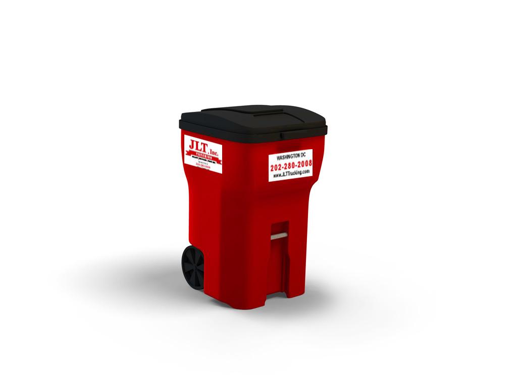 link for waste services; standard toter